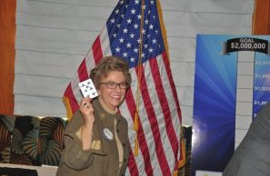 Carolyn Sparks does not win pot.