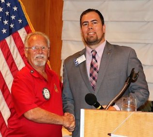 Bob was recognized as the latest trustee of the Las Vegas Rotary Foundation.