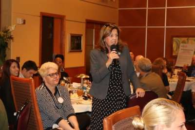 PP Kathy Dalvey brought us up to date on our Ladies Tea Event.