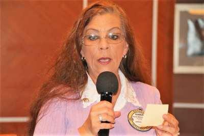 PP Karen Whisenhunt announced the Cultural Exchange Program.