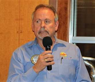 PP Randy Donald announced the vocational networking event at his home on March 29th.