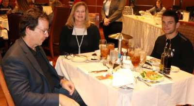At our head table was Flight for Life CEO Mark Brown, our speaker Kristy Keller and Eric Astrameki.