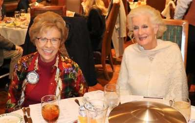 Carolyn Sparks was joined for lunch by her good friend Gail.