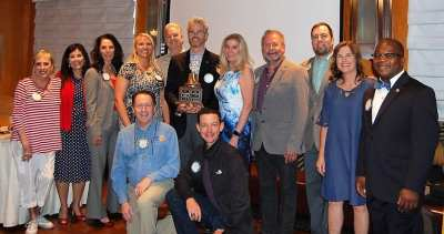 LV Rotary Club wins The Governors Bell for the 2nd year in a row.