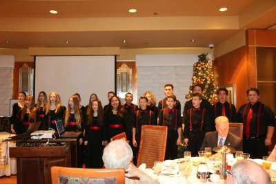 2019 was closed out by The Somerset Academy Sky Pointe choir. They were fantastic.