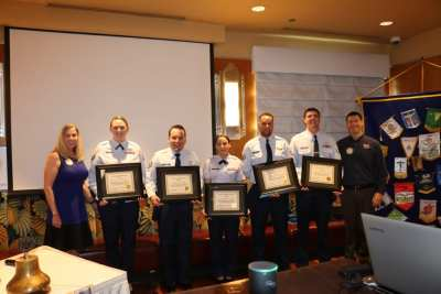 Our fourth quarter Nellis and Creech Airmen were recognized with our Wetzel Awards.