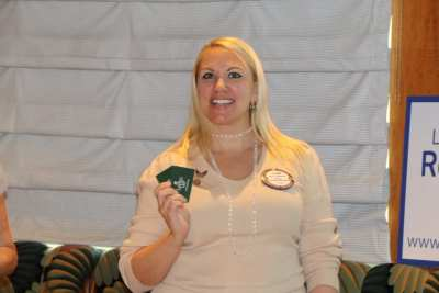 Jaime Goldsmith won the Lawry's Bucks.
