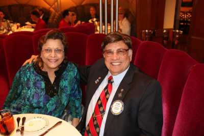 We are missing Steve Parikh and his wife Sudha.