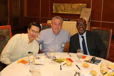PE Mike Ballard and his guests