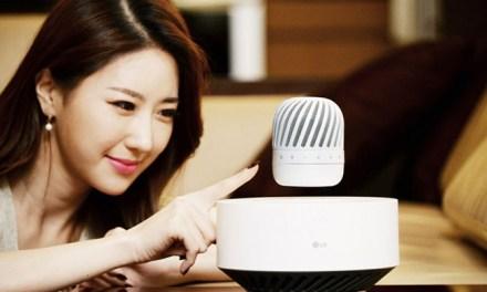 CES 2017: LG presentará en Las Vegas parlantes Bluetooth que levitan