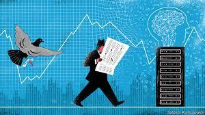 Ahora las maquinas financieras manejan el mercado bursátil