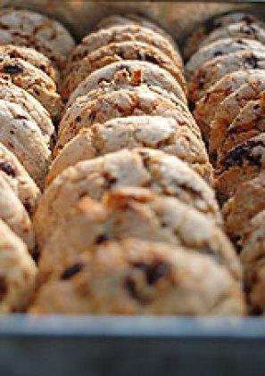 Cookies au chocolat et à la cardamome