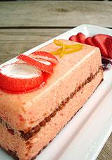 Tiramisu à la fraise tagada et tendresse cannelle