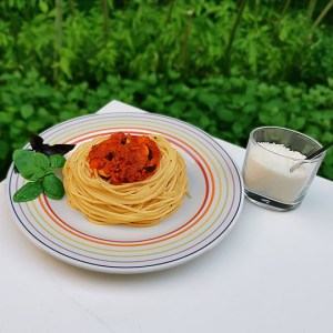12 octobre 2020 spaghetti-bolognaise