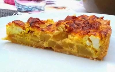 QUICHE COURGETTE FETA sans gluten, sans lactose ou sans lait, avec ou sans œuf