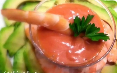 SAUCE COCKTAIL avec ou sans sucre, sans additifs
