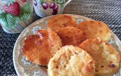 PALETS AUX AMANDES, sans gluten, sans lait, avec ou sans sucre, sans levure, sans oeuf
