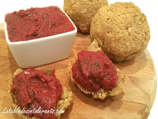TAPENADE DE BETTERAVE ROUGE sans additifs