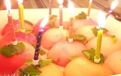 FRUITS POCHÉS PARFUMÉS A LA MENTHE FRAÎCHE avec ou sans sucre
