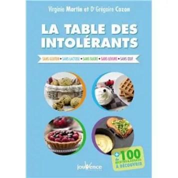 Livre de recettes gourmandes pour personnes intolérantes