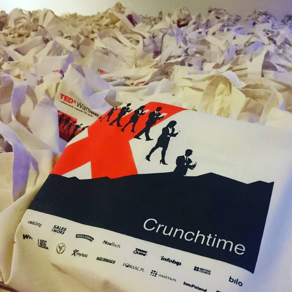 TEDxWarsaw Goodie Bags