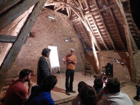 La grange en mode conférence - Michel LALOUX