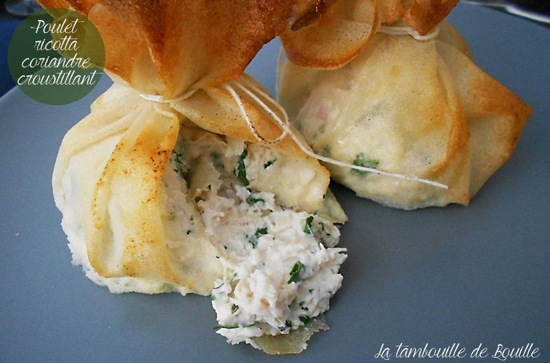 croustillant-poulet-ricotta-coriandre