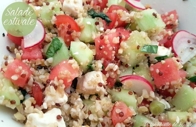 recette-salade-fraîcheur-sucré-salé-pastèque
