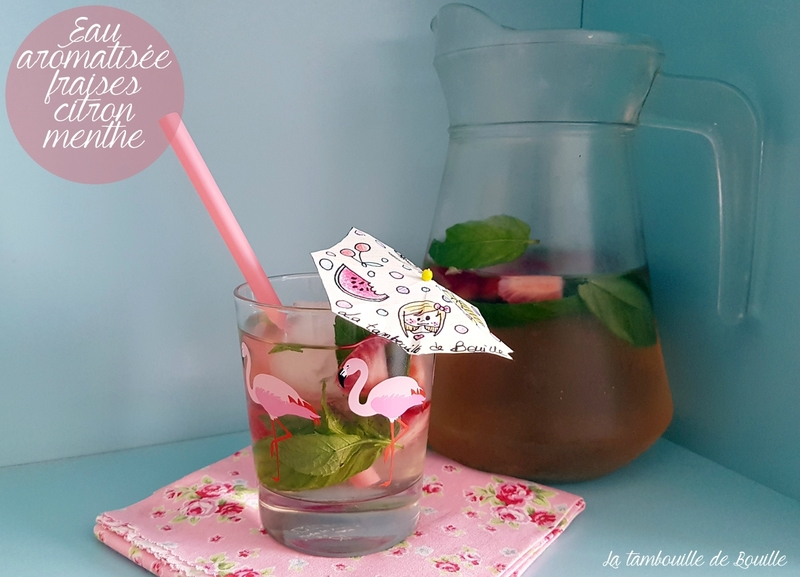 recette-eau-aromatisée-fraise-citron-menthe