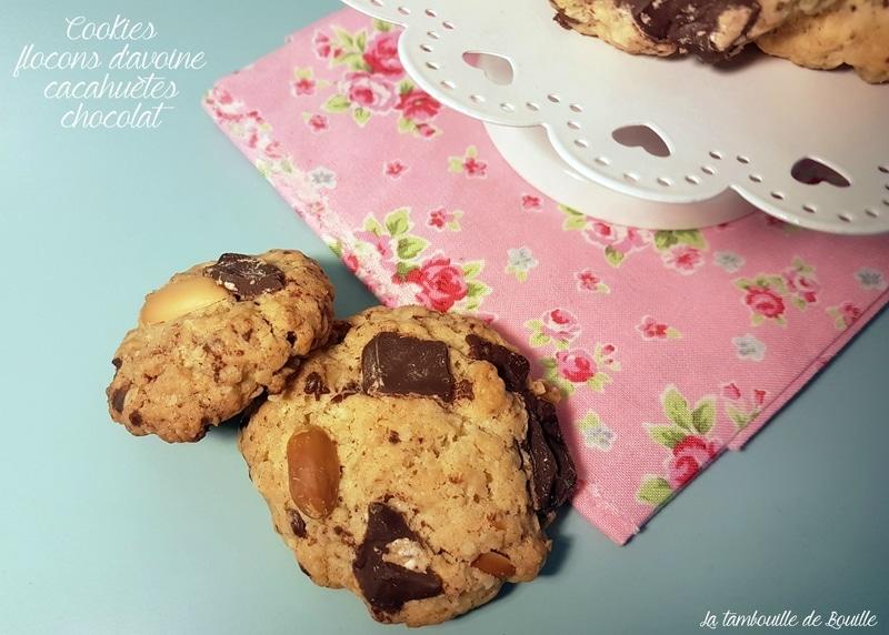 recette-cookies-avoine-cacahuete-chocolat