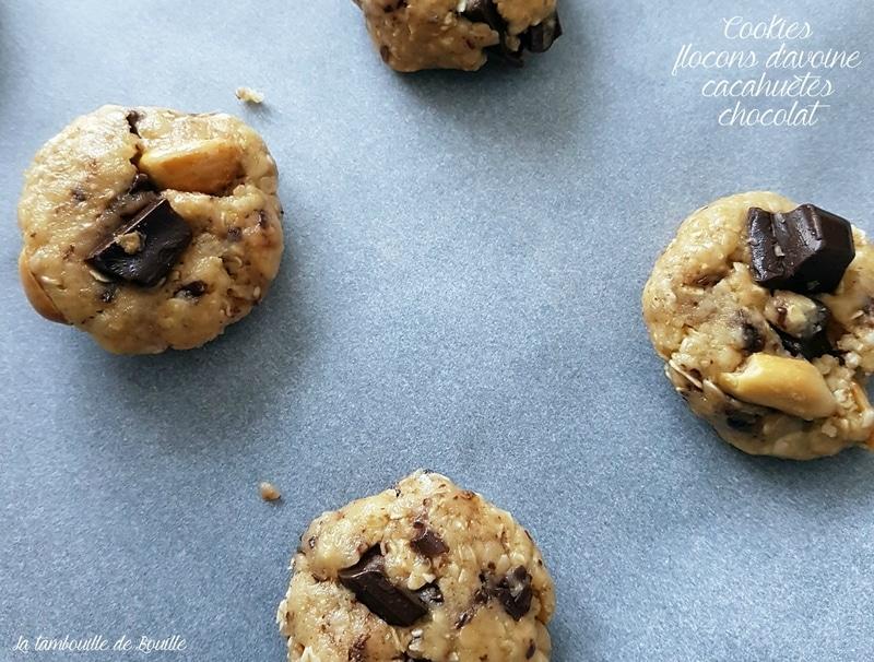 recette-cookies-flocons-avoine-cacahuete-chocolat