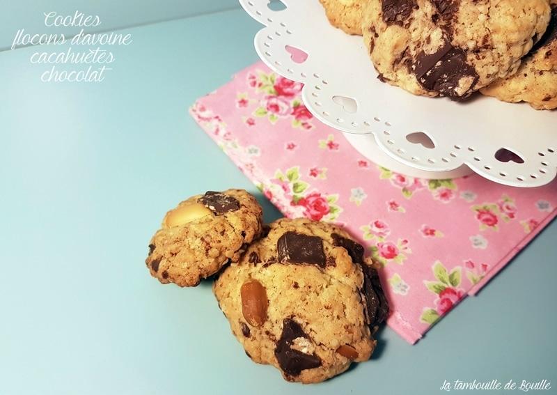 recette-cookie-avoine-cacahuete-chocolat-activité-kids