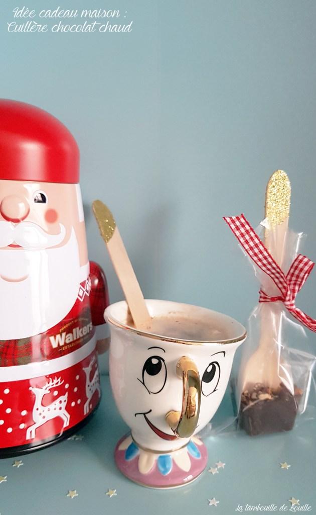 Idee Cadeau De Noel Fait Maison Des Cuilleres Pour Chocolat Chaud La Tambouille De Bouille