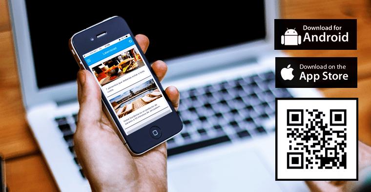 Aplicaciones de LatamIsrael para iOS y Android