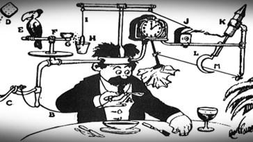 máquinas de Rube Goldberg