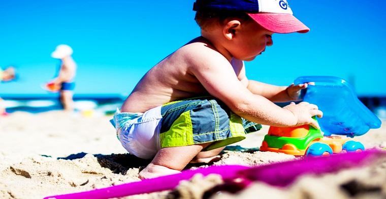 Ir a la playa es bueno contra el asma.