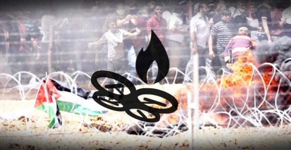 cometas incendiarias de Gaza