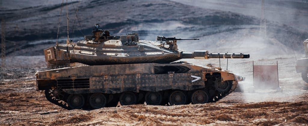 Equipado con inteligencia artificial y realidad virtual, el nuevo tanque de guerra del Ejército de Israel.