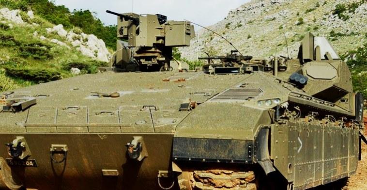 vehículos blindados