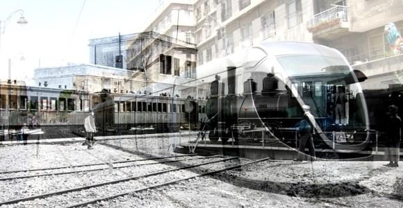 tren ligero de Jerusalem