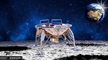 Israel lanza su nave a la luna