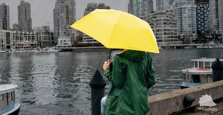 El paraguas que promete mantenerte seco ante cualquier tormenta.