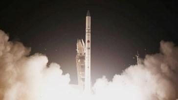 satélite espía de Israel