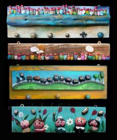Pebble Art - Gli attaccapanni
