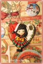 Sax Strega - Ciondolo Christmas Girl