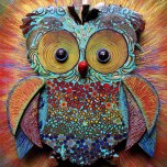 Silvia Logi Artworks - Gufo big bang Ada Spina