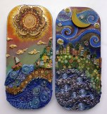 Silvia Logi Artworks - Pannelli Sole e Luna