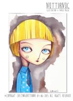 Notturno C - Illustazione Blonde