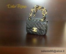 Dolce Bijoux - Borsa Chanel in fimo