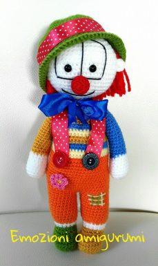 Emozioni Anigurumi - Clown